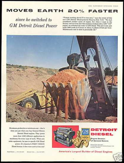 GM Detroit Diesel Engine Power Shovel (1956)