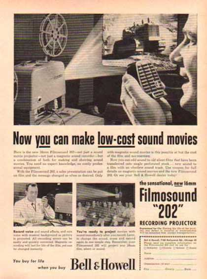 Bell & Howell Camera – Filmosound 202 – Chicago (1952)