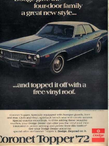 Chrysler's Dodge (1972)