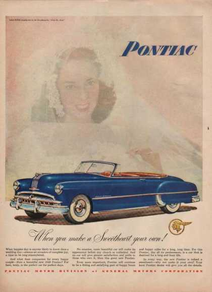 Make a Sweetheart Your Own Pontiac Car (1949)