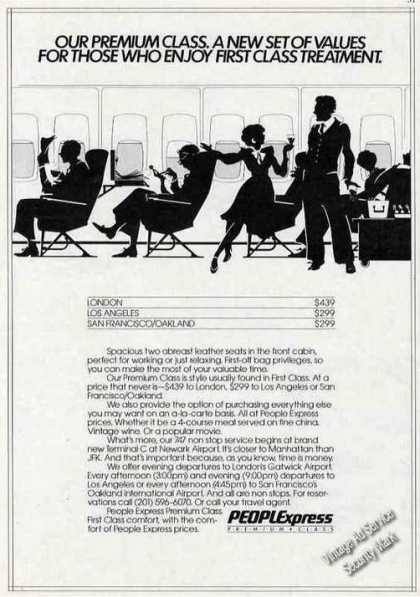 "People Express ""A New Set of Values"" Airline (1984)"