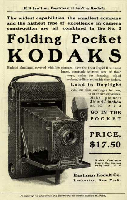 Kodak's Folding Pocket cameras – Folding Pocket Kodaks