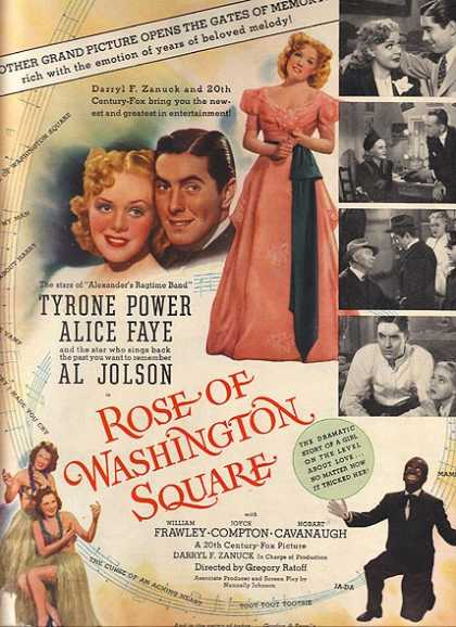 Rose of Washington Square (Grand Picture) (1939)