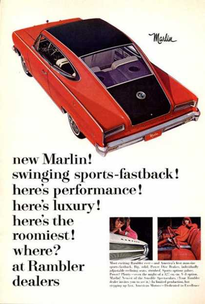 Rambler Marlin Sports Car Fastback (1965)