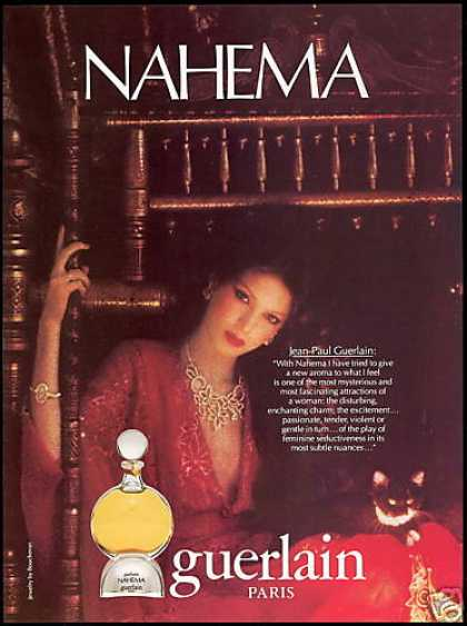 Guerlain Nahema Perfume Photo (1981)