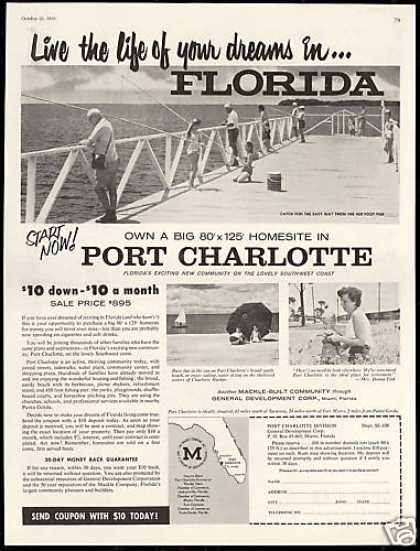 Florida Port Charlotte Mackle Co Homesite (1958)