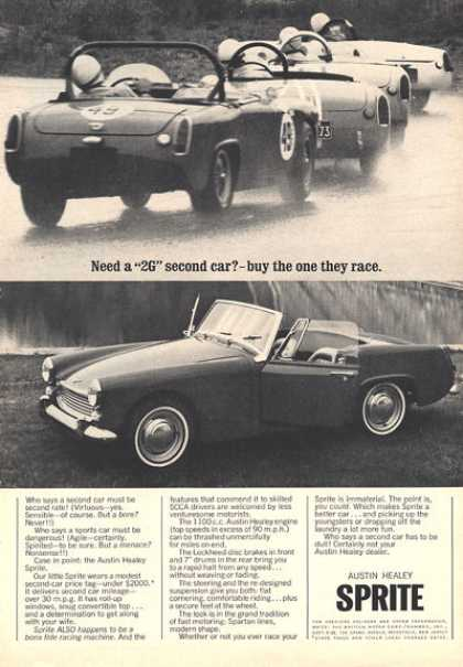 Austin Healey Sprite Race Car (1964)