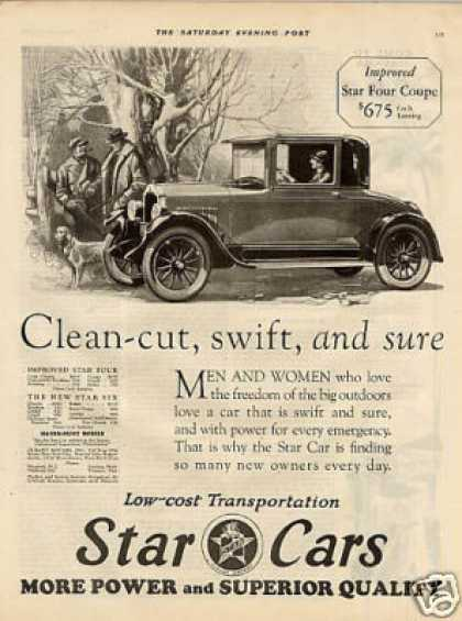 Star Four Coupe (1926)