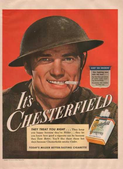 Military Man Chesterfie (1942)