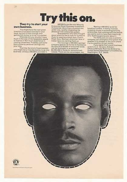 Black Mask MESBIC Minority Small Business (1971)