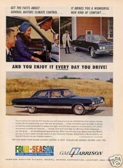 Harrison Ad Oldsmobile 98 Car (1965)