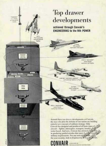 Convair Top Drawer Developments New Planes (1955)