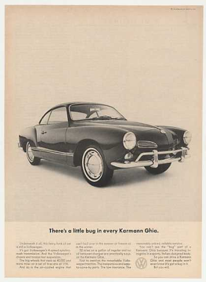VW Volkswagen Little Bug in Every Karmann Ghia (1965)