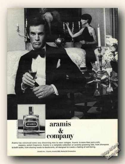 Aramis & Company Mens Cologne Collectible (1975)