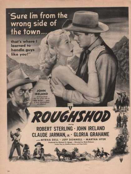 Roughshod Robert Sterling John Ireland (1949)