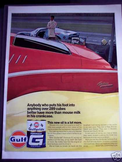 Gulfpride Formula G Racing Oil (1968)