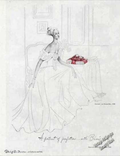 Blum's of San Francisco Art Lord & Taylor Candy (1947)