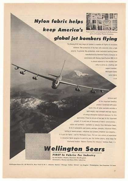 Boeing B-52 Bomber Aircraft Wellington Sears (1956)