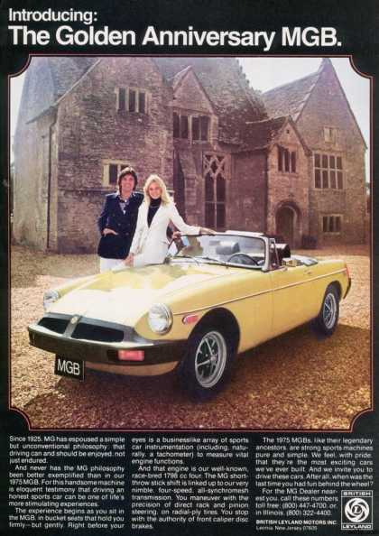 British Leyland's MGB Convertible (1975)