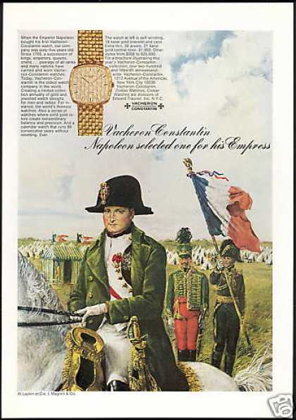 Napoleon Bonaparte Vacheron Constantin Watch (1971)