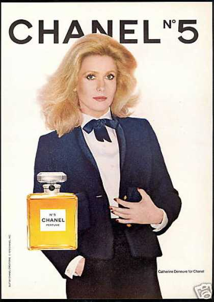 Catherine Deneuve Chanel No 5 Perfume (1979)