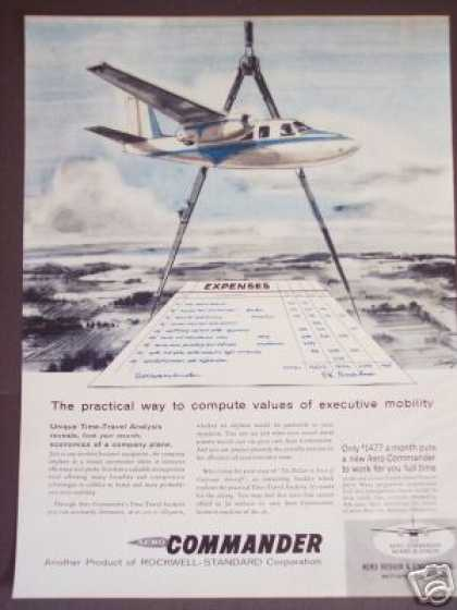 Aero Commander Company Plane Airplane (1959)