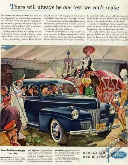 Ford at Circus Art Collectible Car (1941)