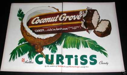 "Curtis ""Coconut Grove"" Candy, Exc (1949)"