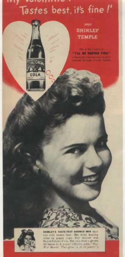 Shirley Temple – Royal Crown Cola (1945)