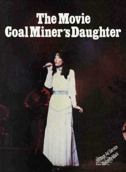 "Sissy Spacek Photo ""Coal Miner's Daughter"" (1980)"
