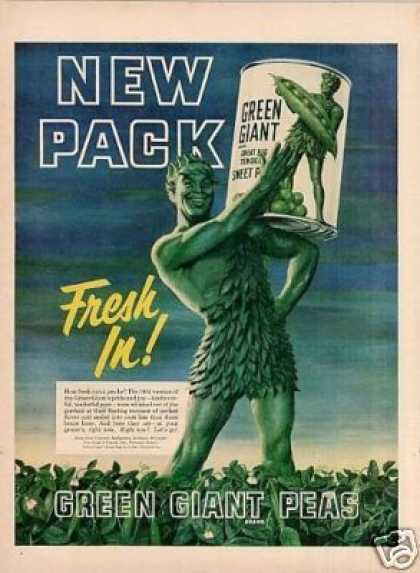 Green Giant Peas (1951)