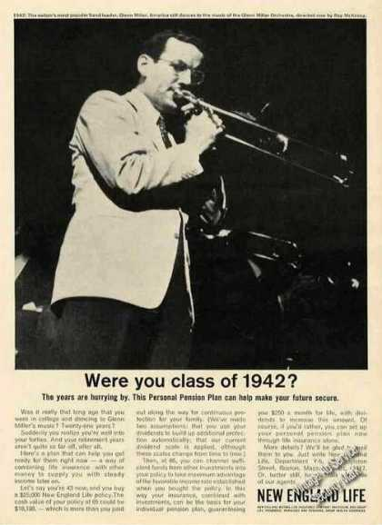 Glenn Miller Photo New England Life Class of 42 (1963)