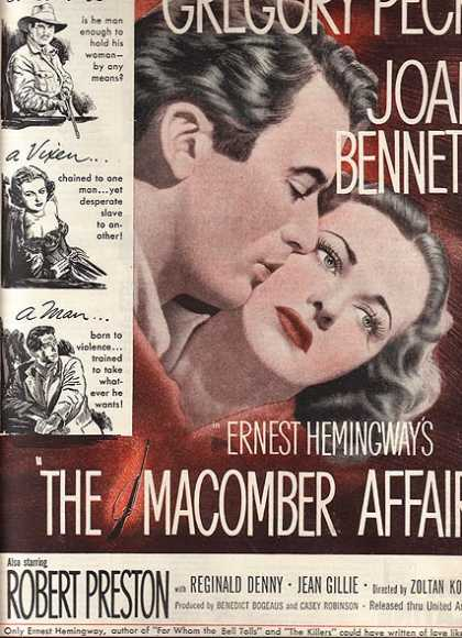 The Macomber Affair (Ernest Hemingway) (1947)