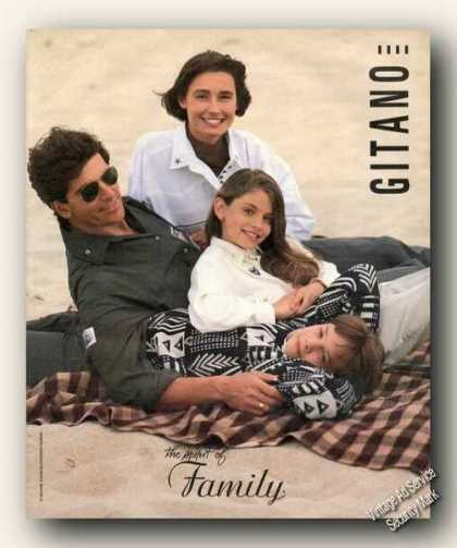 The Spirit of Family Photo Gitano Advertising (1989)