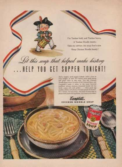 Campbells Chicken Noodle Soup (1949)