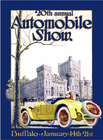 Automobile Show, Buffalo