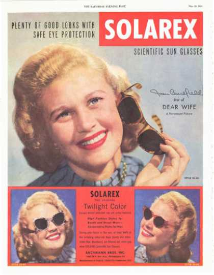 Solarex Sun Glasses (1949)
