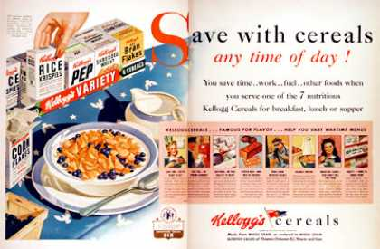 Kellogg's Cereal Pack (1943)