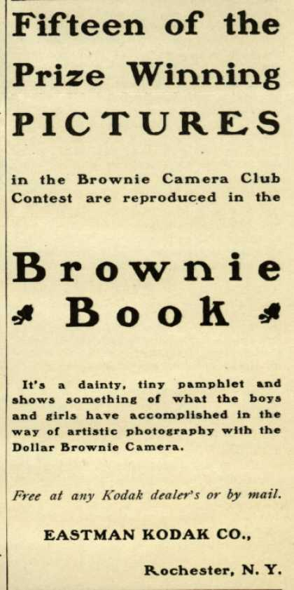 Kodak's Brownie Book and Brownie camera – Fifteen of the Prize Winning Pictures (1901)