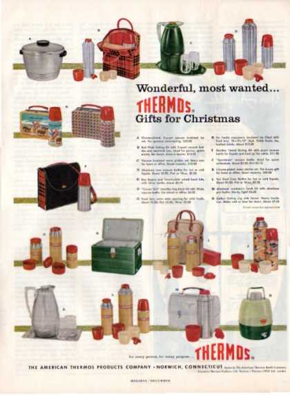 Thermos Ice Tub Cooler Lunch Box Pail (1956)