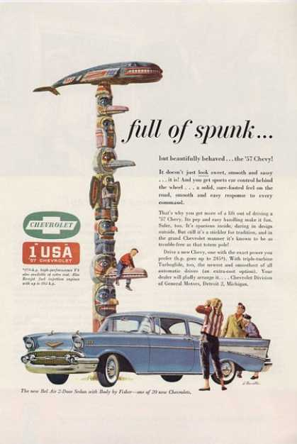 Chevrolet Bel Air Indian Totem Pole T (1957)