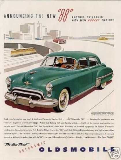 "Oldsmobile ""88"" Car (1949)"