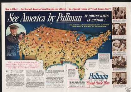 Pullman Grand Circle Plan Railroad (1937)