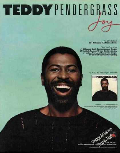 Teddy Pendergrass Photo Album Promo (1988)