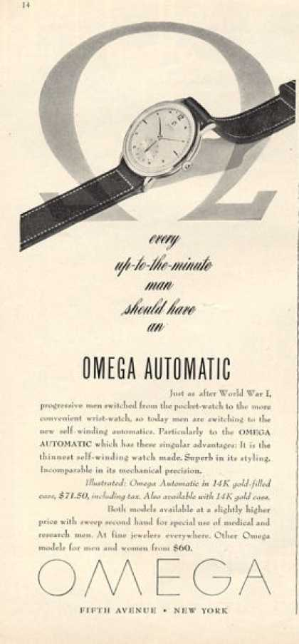 Omega Automatic Watch (1947)