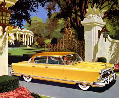 Nash Ambassador Custom Golden Airflyte four-door sedan (1952)