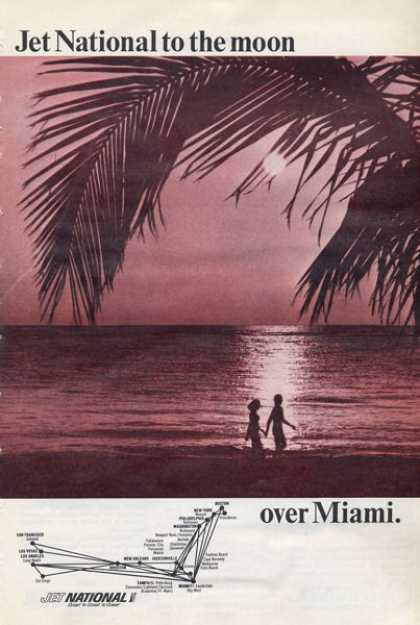 Jet National Miami Beach Sunset (1965)