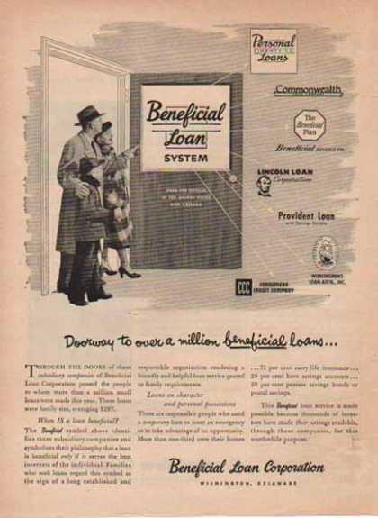 Beneficial Loan Corporation – Wilmington, Delaware (1951)