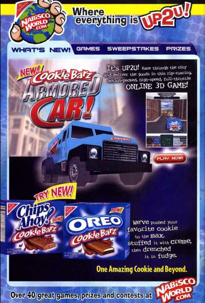 New! CookieBarz Armored Car (2003)