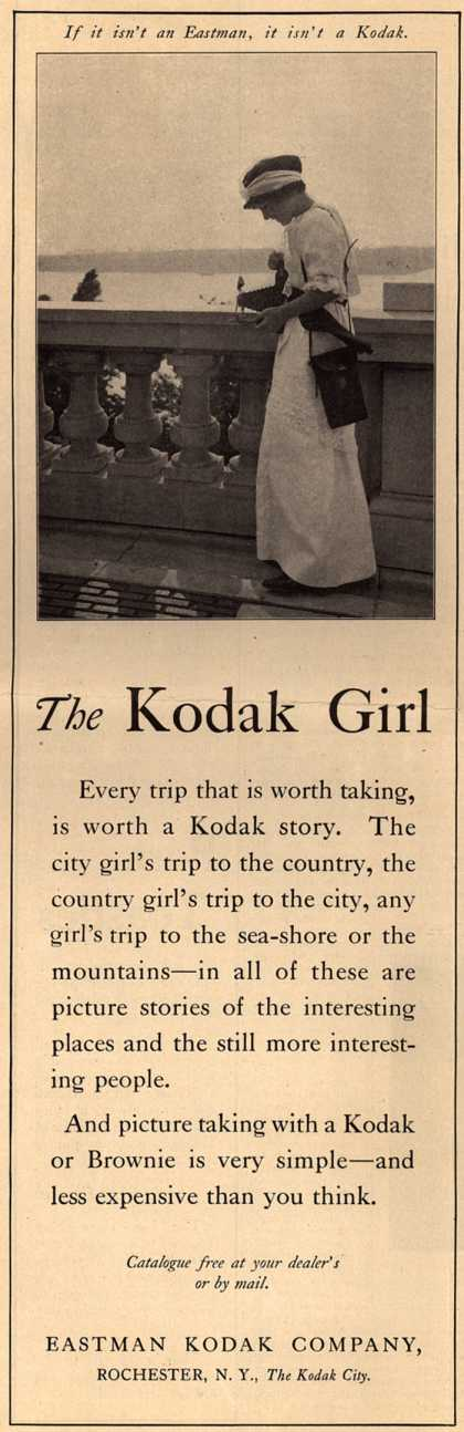 Kodak – The Kodak Girl (1914)